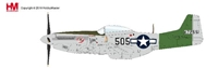 P-51D Mustang Die Cast Model Capt. Abner M. Aust, Jr, 457th FS, 506th FG, 7th AF, 1945 (1:48) by Hobby Master Diecast Airplanes item number: HA7743B