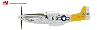 P-51D Mustang Die Cast Model 1st Lt. William G. Ebersole, 462th FS, 506th FG, 7th AF, 1945 (1:48) by Hobby Master Diecast Airplanes item number: HA7744B
