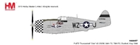P-47D Thunderbolt 84th FS, 78th FG, Duxford, May 1944 (1:48) by Hobby Master Diecast Airplanes
