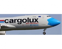 "CargoLux B747-8F ""Not Without My Mask"" LX-VCF (1:200)"