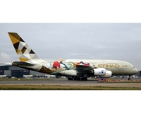 "Etihad Airlines A380-800 ""Choose South Korea"" A6-APG (1:200)"