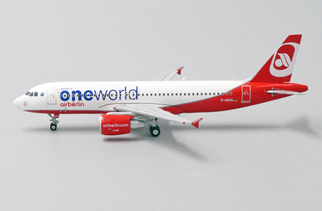 Air Berlin A320-200 (One World Livery) D-ABHO (1:400)
